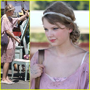 Taylor Swift: Melrose Avenue Flea Market