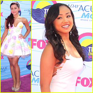 Cymphonique & Ariana Grande - Teen Choice Awards 2012