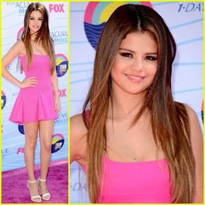 Selena Gomez - Teen Choice Awards 2012