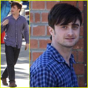 Daniel Radcliffe: 'The F Word' Set Pics!