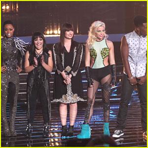 Demi Lovato: Back to Brunette on 'X Factor'