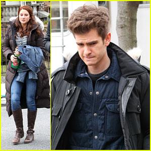 Shailene Woodley & Andrew Garfield: 'Spider-Man 2' Set in Brooklyn