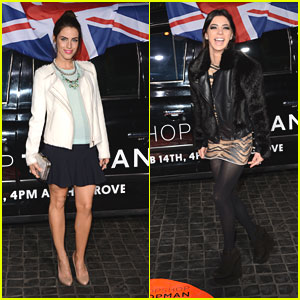 Jessica Lowndes & Gia Mantegna: Topshop Topman LA Opening Party