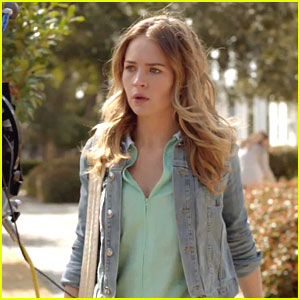 Britt Robertson: First Look at 'Under The Dome' -- Watch Now!
