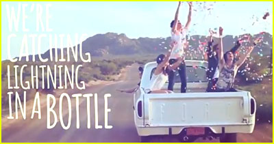 The Summer Set: 'Lightning In A Bottle' Lyric Video!