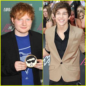Ed Sheeran & Austin Mahone: MuchMusic Awards 2013