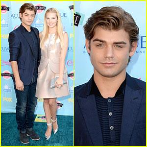Garrett Clayton & Claudia Lee - Teen Choice Awards 2013