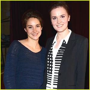 Shailene Woodley & Veronica Roth: 'Divergent' London Fan Event