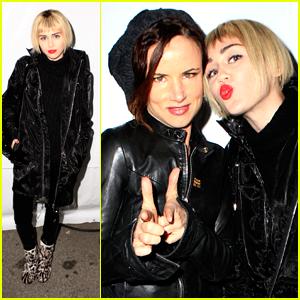 Miley Cyrus Debuts Blonde Bob at KROQ's Almost Acoustic Christmas!