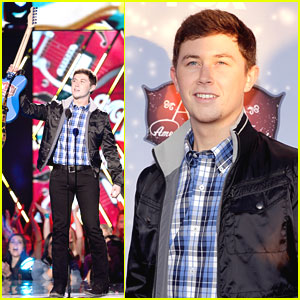 Scotty McCreery Wins Breakthrough Artist of the Year at ACAs 2013!