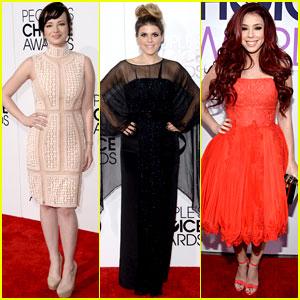 Ashley Rickards & Molly Tarlov: People's Choice Awards 2014