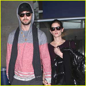 Ashley Greene & Paul Khoury: Back In L.A. After Super Bowl Weekend