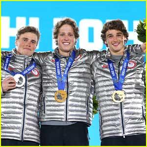Joss Christensen, Gus Kenworthy & Nick Goepper Sweep Men's Ski Slopestyle at Sochi Olympics