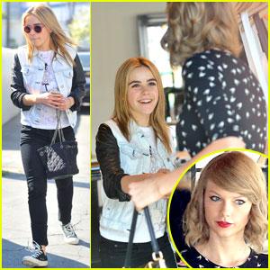 Kiernan Shipka Runs into Taylor Swift While Shopping at Rag & Bone!