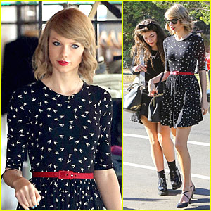 Taylor Swift & Lorde: Shopping Duo at Rag & Bone!