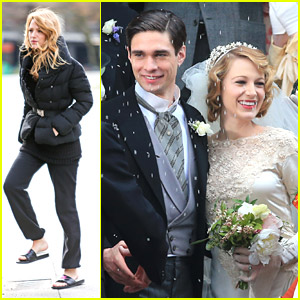 Blake Lively Gets Hitched For 'Age of Adaline'
