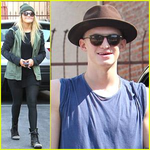 Cody Simpson & Witney Carson: Thursday Dance Studio Practice