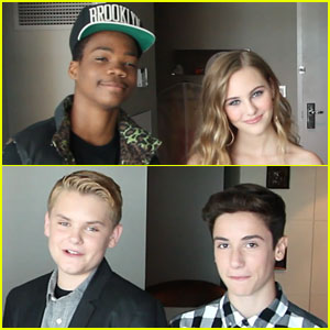'Earth to Echo' Gives JJJ a Behind-the-Scenes Look at Kids' Choice Awards 2014! (Exclusive)