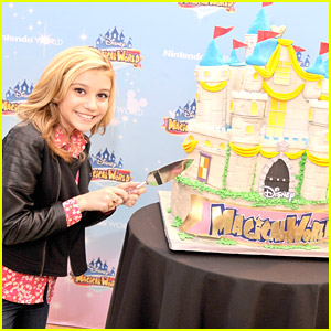 G Hannelius Launches Disney's Magical World With Nintendo