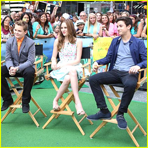 'Earth To Echo' Cast Stops By 'Good Morning America' Ahead of Premiere