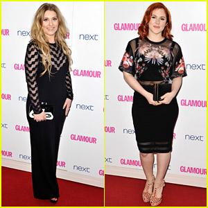 Ella Henderson & Katy B See Sheer-Goodness at Glamour Women of the Year Awards