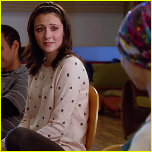 April Seeks Advice From Cancer Support Group on 'Chasing Life' Tonight