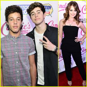 Nash Grier & Cameron Dallas Bring Their Bromance to the Teen Choice Awards Pre-Party!