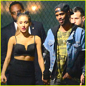 Ariana Grande Spotted Holding Hands with Big Sean at 'SNL' After Party!