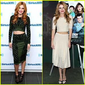 Bella Thorne Takes 'Alexander' To New York City