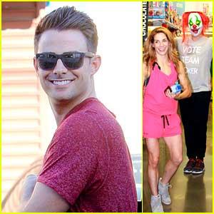 Jonathan Bennett Is Taking #TeamJoker Very Seriously; Wears Fun Joker Mask Inside Walgreens!