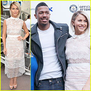 Julianne Hough Tries to Break Record For Most Selfies at Ditch the DSLR Event!