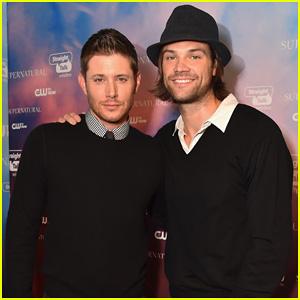 Jensen Ackles & Jared Padalecki Celebrate 'Supernatural's 200th Episode at CW's Fan Party!