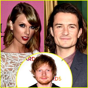 Ed Sheeran Thinks Taylor Swift & Orlando Bloom Should Date!