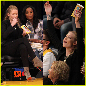 Iggy Azalea Can't Stop Cheering For Her Boyfriend Nick Young!