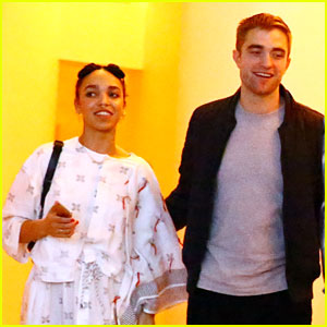 Robert Pattinson & FKA twigs Look So Happy Attending an Event Together!