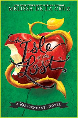 Get Your First Look at 'Descendants' Book Prequel Cover 'The Isle Of The Lost' by Melissa de La Cruz!