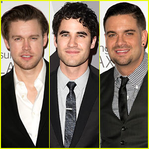 'Glee' Guys Party After the Grammys!