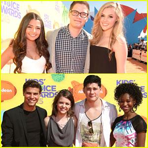 Cristine Prosperi & Luke Bilyk Reunite At Kids Choice Awards 2015