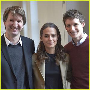 Eddie Redmayne Brings 'The Danish Girl' to Copenhagen With Alicia Vikander