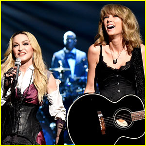 Taylor Swift Performs with Madonna at iHeartRadio Music Awards 2015! (Video)
