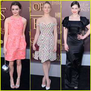 Maisie Williams Brings Disco Ball Purse to 'Game of Thrones' Premiere!