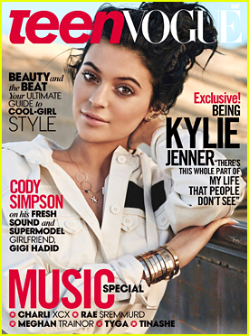 Kylie Jenner Talks Instagram & Her Sisters For Teen Vogue's May 2015 Issue