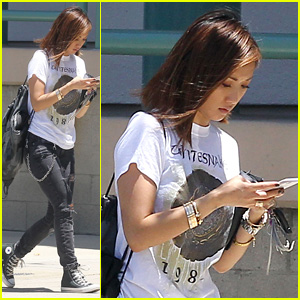 Brenda Song Steps Out After Reuniting With Ex-Fiance Trace Cyrus