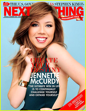 Jennette McCurdy Talks Writing Hopes With 'Next Big Thing' Mag