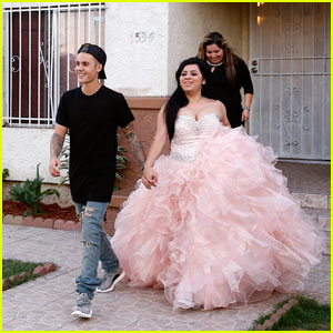 Justin Bieber Surprises Lucky Fan With a Quinceanera on Tonight's 'Knock Knock Live'!