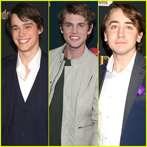 Mitchell Hope, Jedidiah Goodacre & Zachary Gibson Lay On The Charm At 'Descendants' Premiere