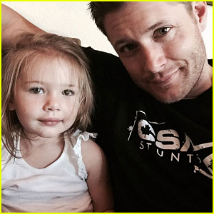 Jensen Ackles Joins Instagram & Posts the Cutest First Photo Ever!