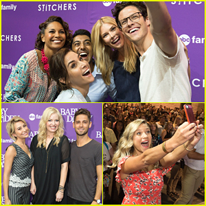 Stitchers' Kyle Harris Meets His Childhood Hero At D23 - See Who It Is Here!