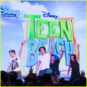 Garrett Clayton & Mollee Gray Bring 'Teen Beach 2' to D23 Expo!