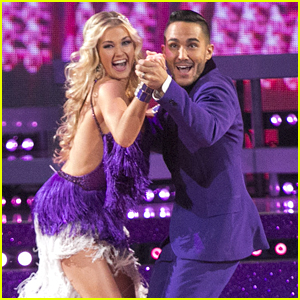 Carlos PenaVega & Lindsay Arnold Wow With Nearly Perfect Quickstep on DWTS